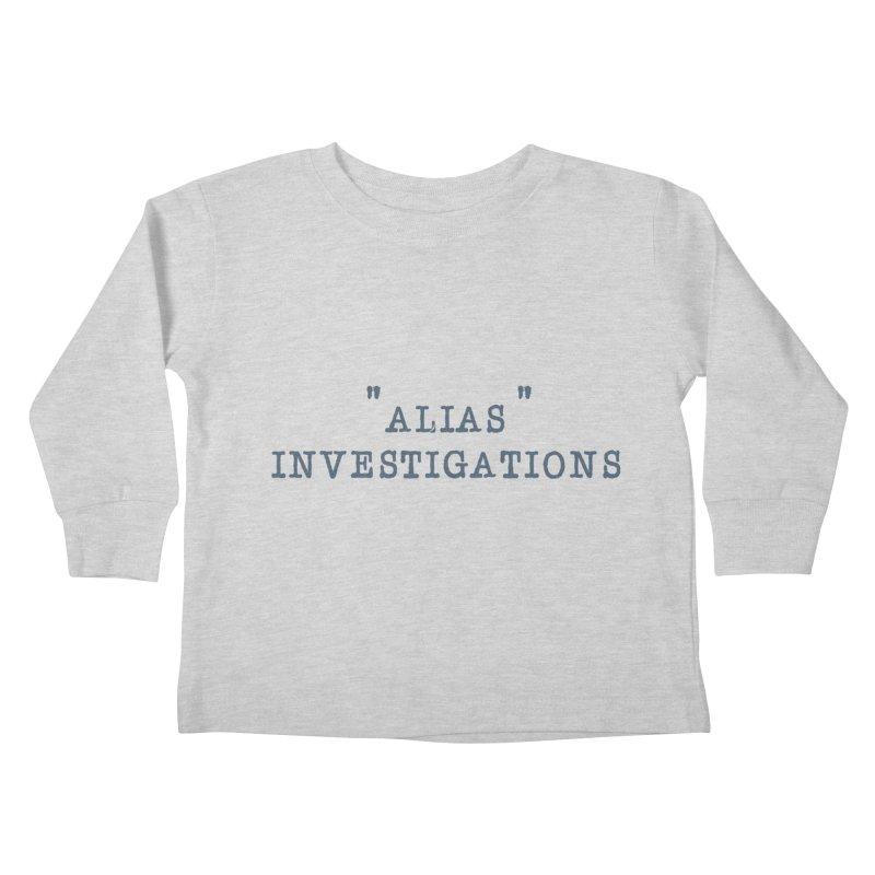 """alias"" Kids Toddler Longsleeve T-Shirt by gasponce"