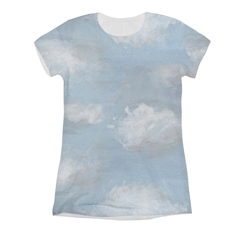CLOUDS Women's Triblend All Over Print by gasponce