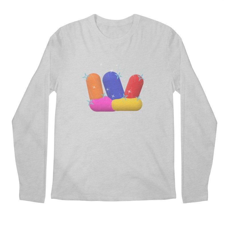 Minimal Crystals! Men's Longsleeve T-Shirt by gasponce