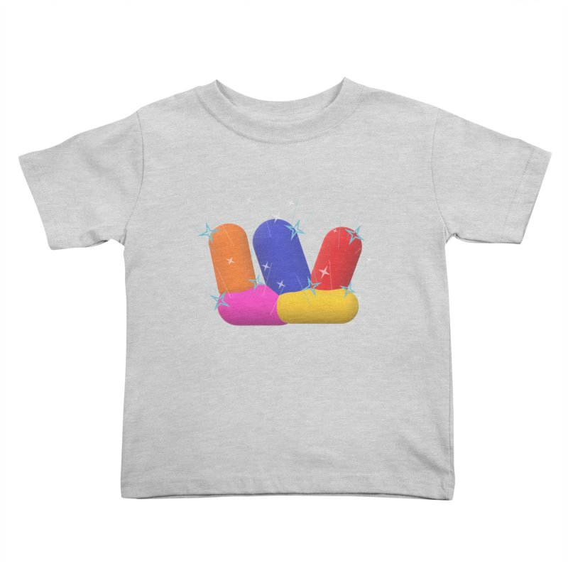 Minimal Crystals! Kids Toddler T-Shirt by gasponce