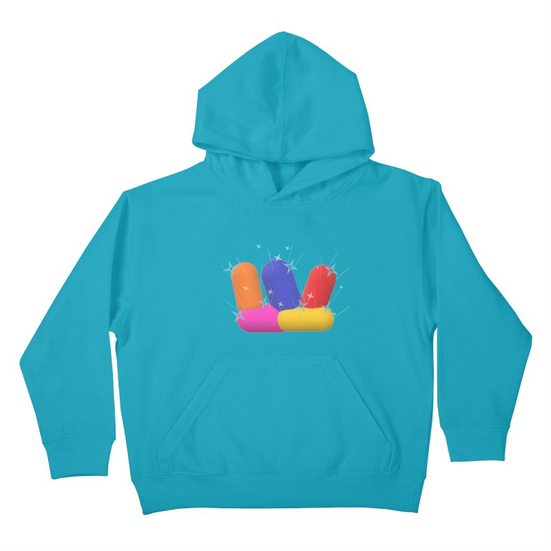 Minimal Crystals! Kids Pullover Hoody by gasponce