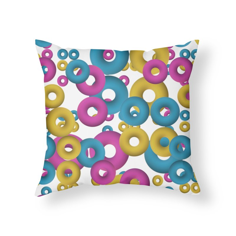 minimalist Fruity loops! Home Throw Pillow by gasponce