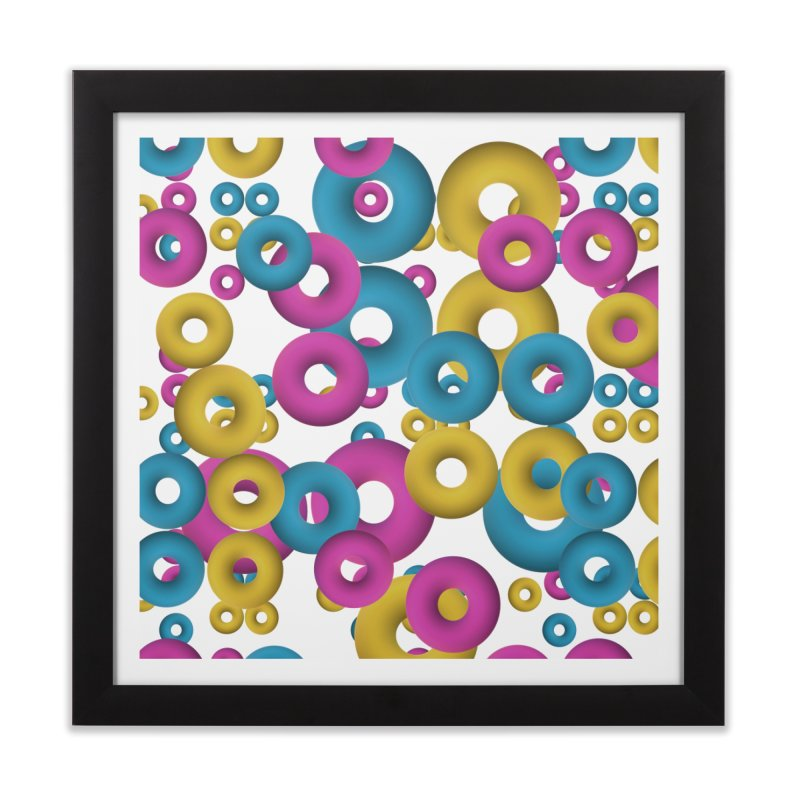 minimalist Fruity loops! Home Framed Fine Art Print by gasponce
