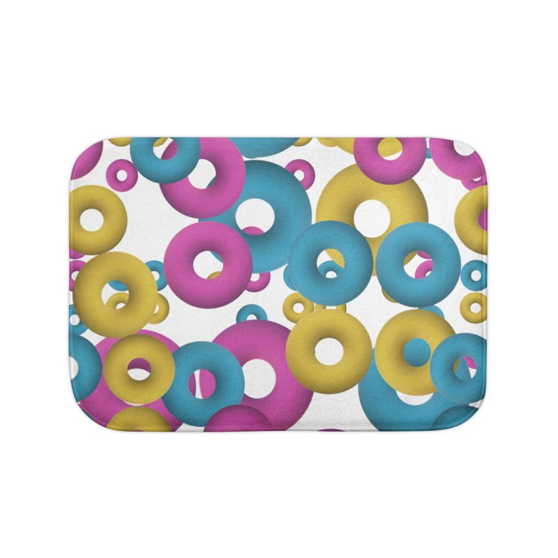 minimalist Fruity loops! Home Bath Mat by gasponce