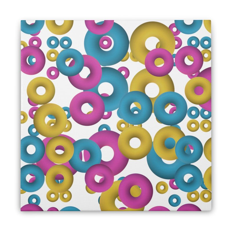 minimalist Fruity loops! Home Stretched Canvas by gasponce