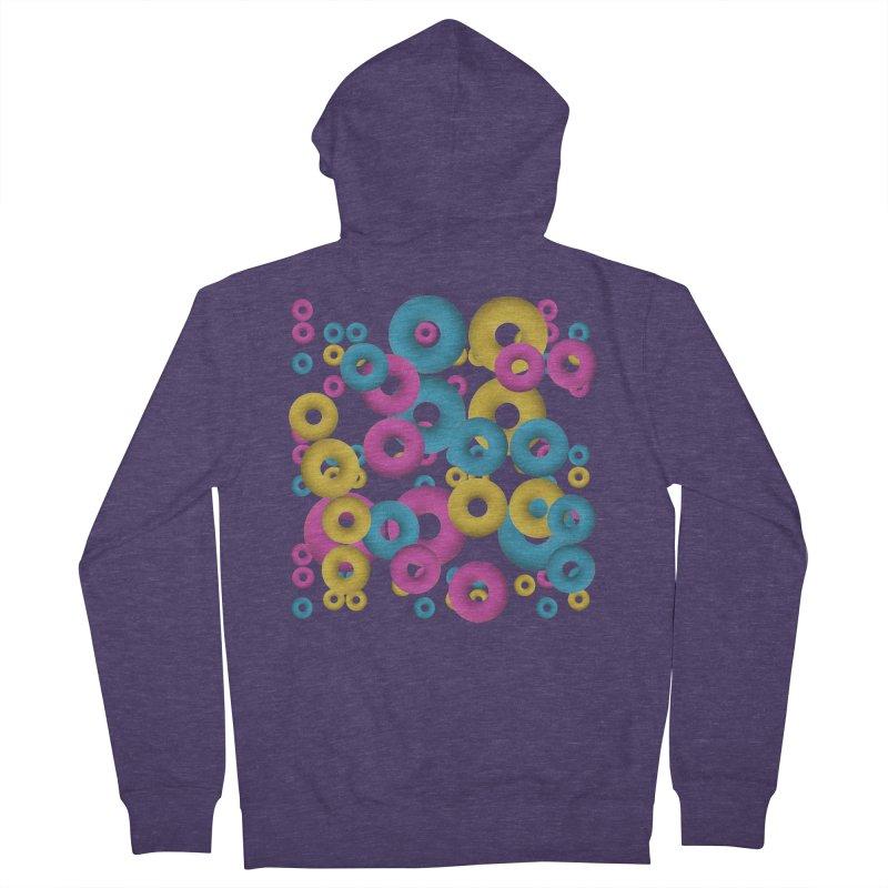 minimalist Fruity loops! Men's Zip-Up Hoody by gasponce