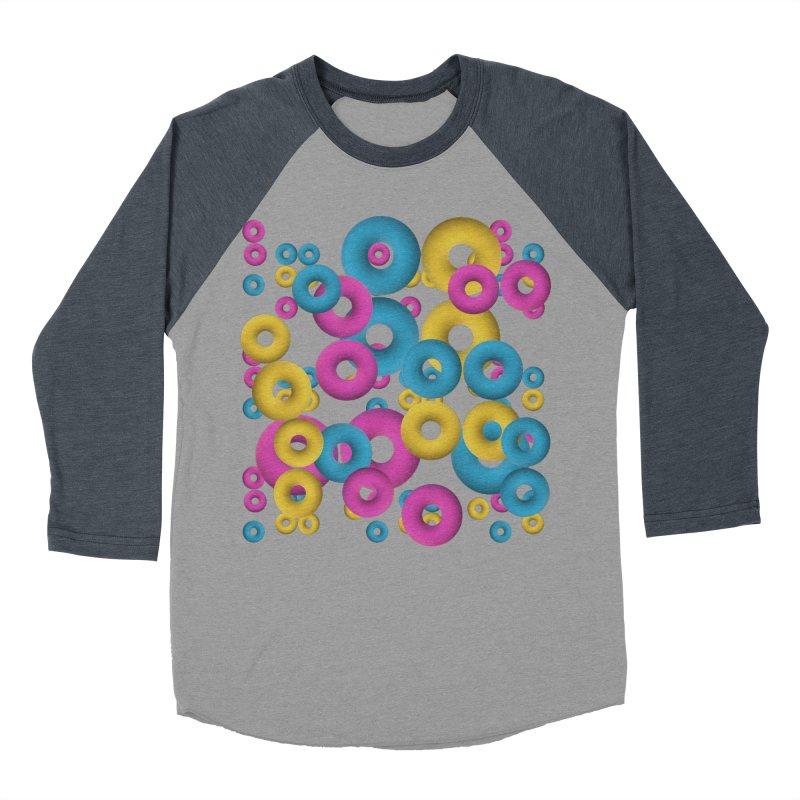 minimalist Fruity loops! Men's Baseball Triblend T-Shirt by gasponce