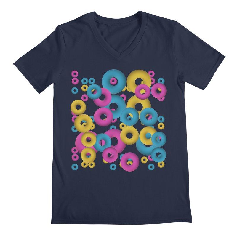 minimalist Fruity loops! Men's V-Neck by gasponce