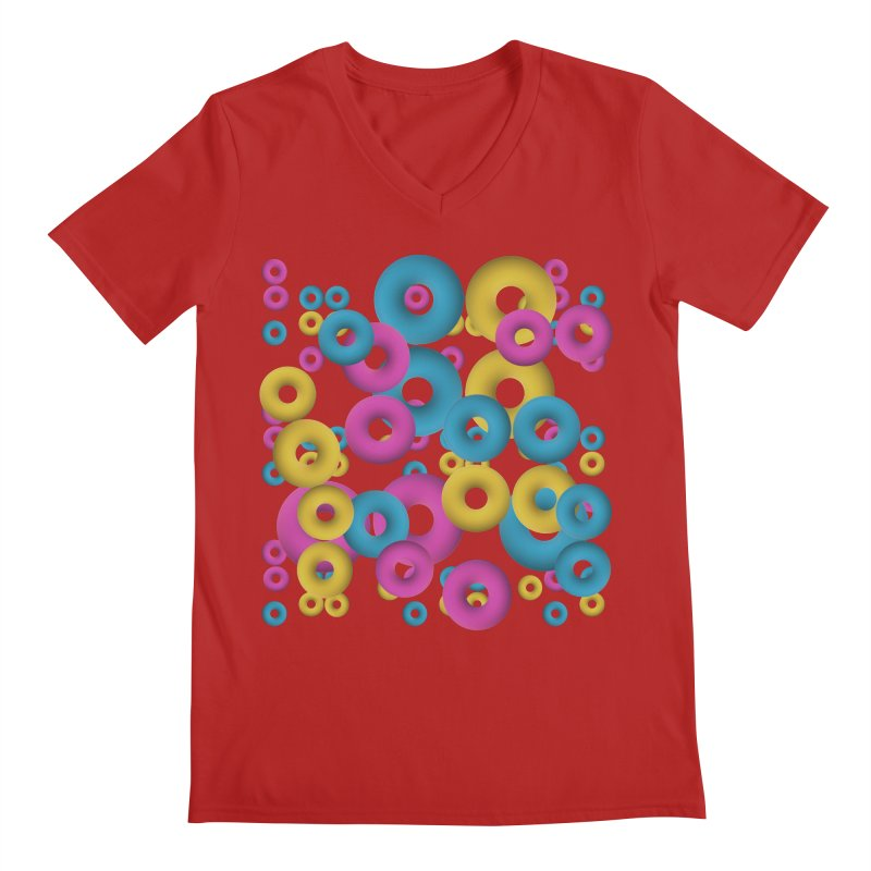 minimalist Fruity loops! Men's V-Neck by gasponce