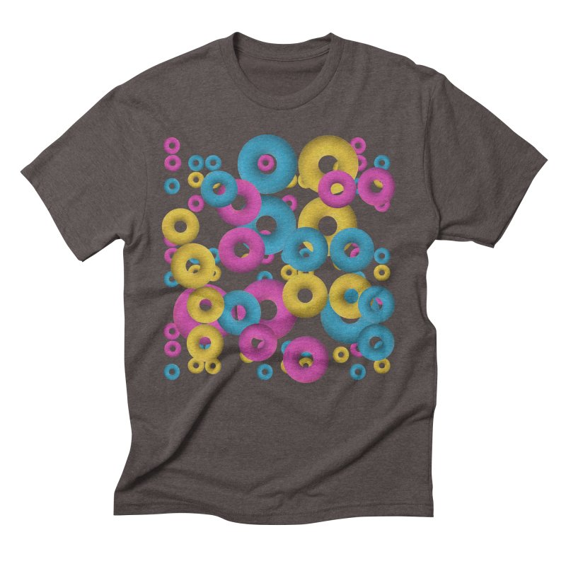 minimalist Fruity loops! Men's Triblend T-shirt by gasponce