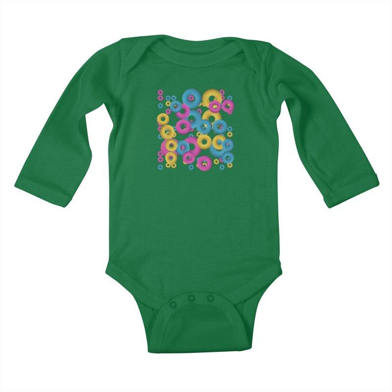 minimalist Fruity loops! Kids Baby Longsleeve Bodysuit by gasponce