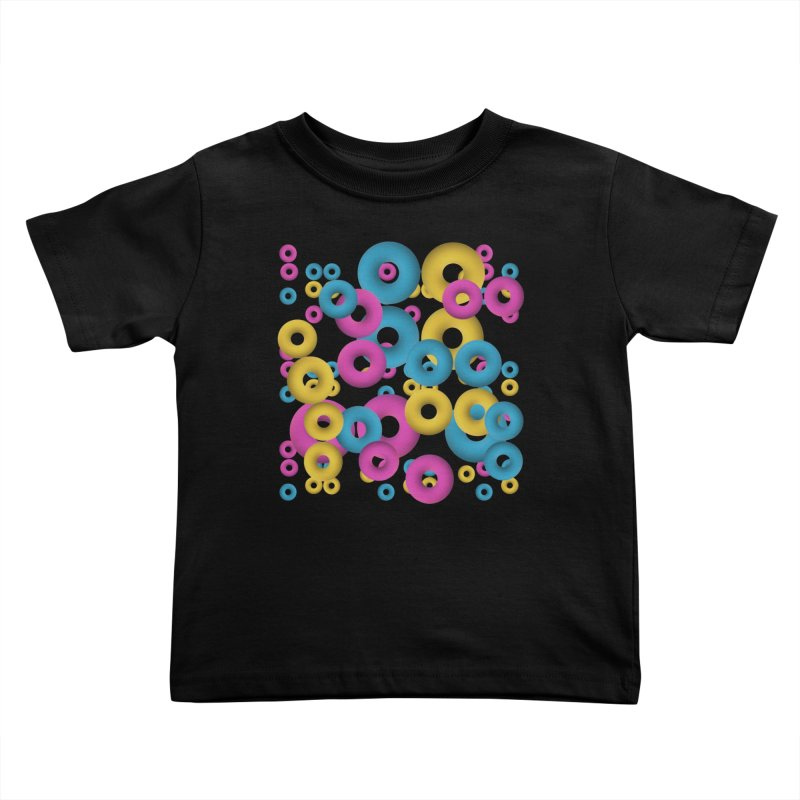 minimalist Fruity loops! Kids Toddler T-Shirt by gasponce