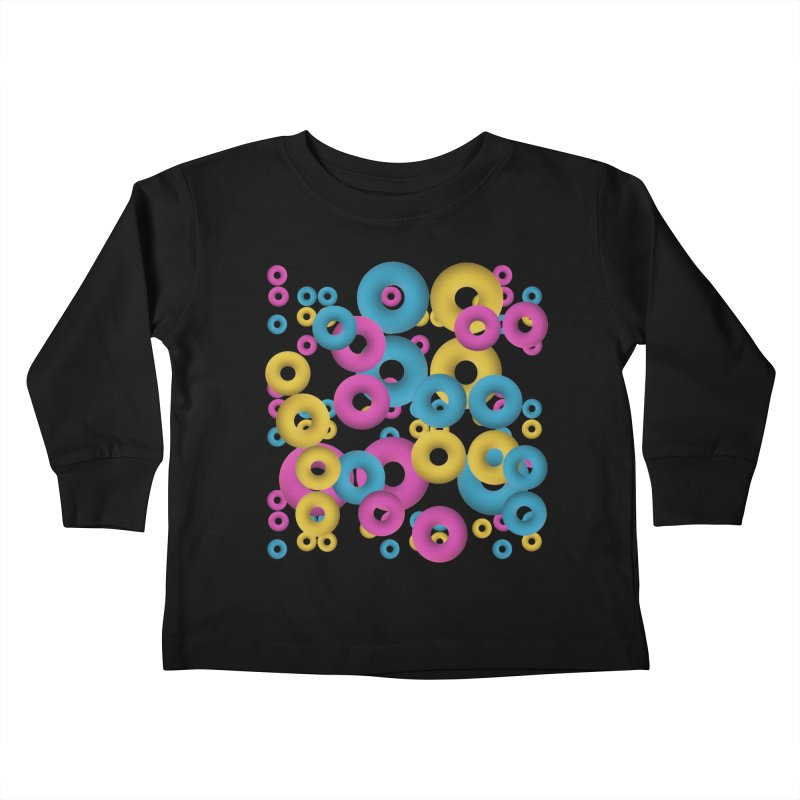 minimalist Fruity loops! Kids Toddler Longsleeve T-Shirt by gasponce