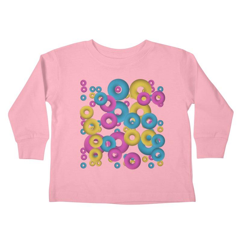 minimalist Fruity loops! Kids Toddler Longsleeve T-Shirt by gasponce