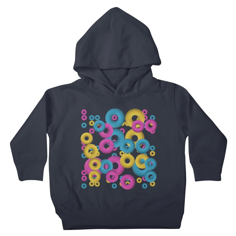 minimalist Fruity loops! Kids Toddler Pullover Hoody by gasponce