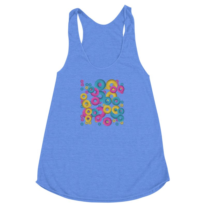 minimalist Fruity loops! Women's Racerback Triblend Tank by gasponce
