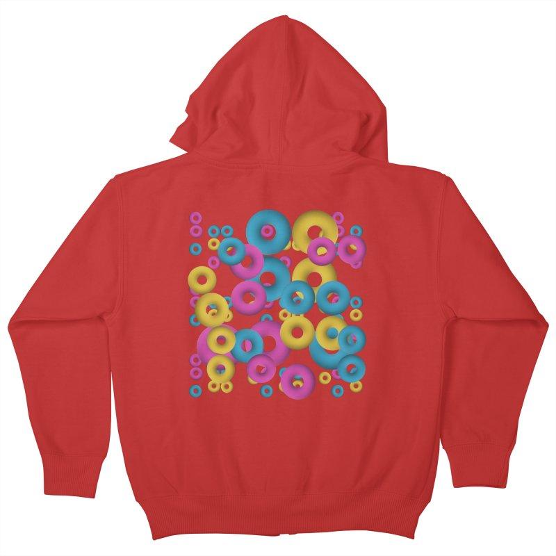minimalist Fruity loops! Kids Zip-Up Hoody by gasponce