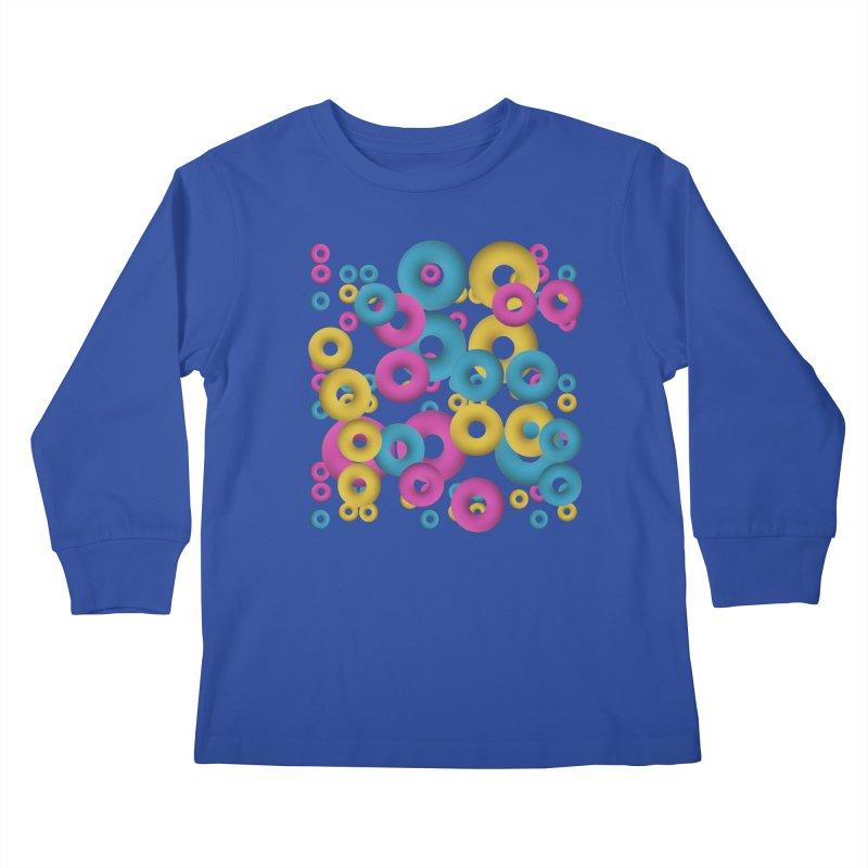 minimalist Fruity loops! Kids Longsleeve T-Shirt by gasponce