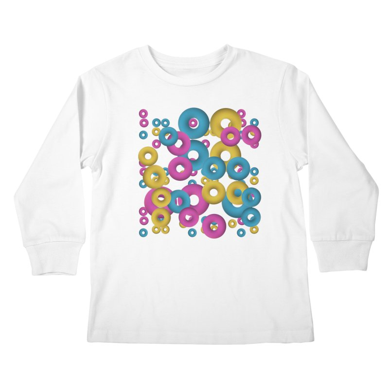 minimalist Fruity loops! Kids Longsleeve T-Shirt by gasponce