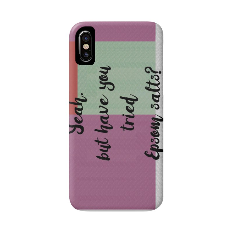 Epsom salts! Accessories Phone Case by gasponce