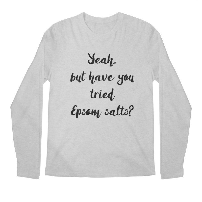 Epsom salts! Men's Longsleeve T-Shirt by gasponce