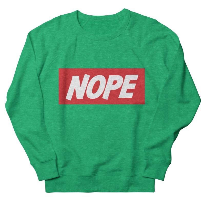 Nope! Men's Sweatshirt by gasponce