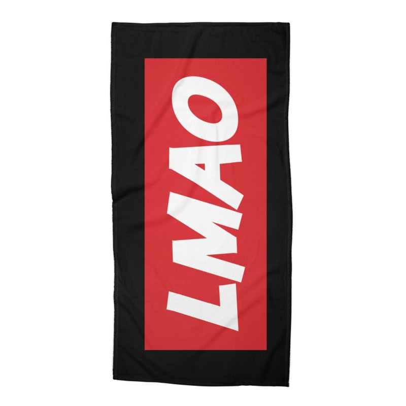LMAO! Accessories Beach Towel by gasponce