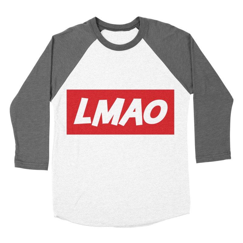 LMAO! Men's Baseball Triblend T-Shirt by gasponce