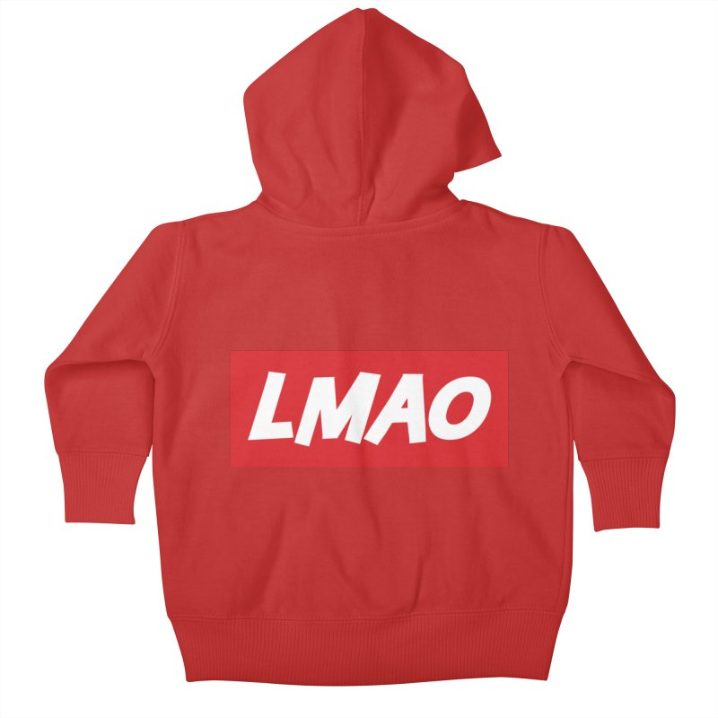 LMAO! Kids Baby Zip-Up Hoody by gasponce
