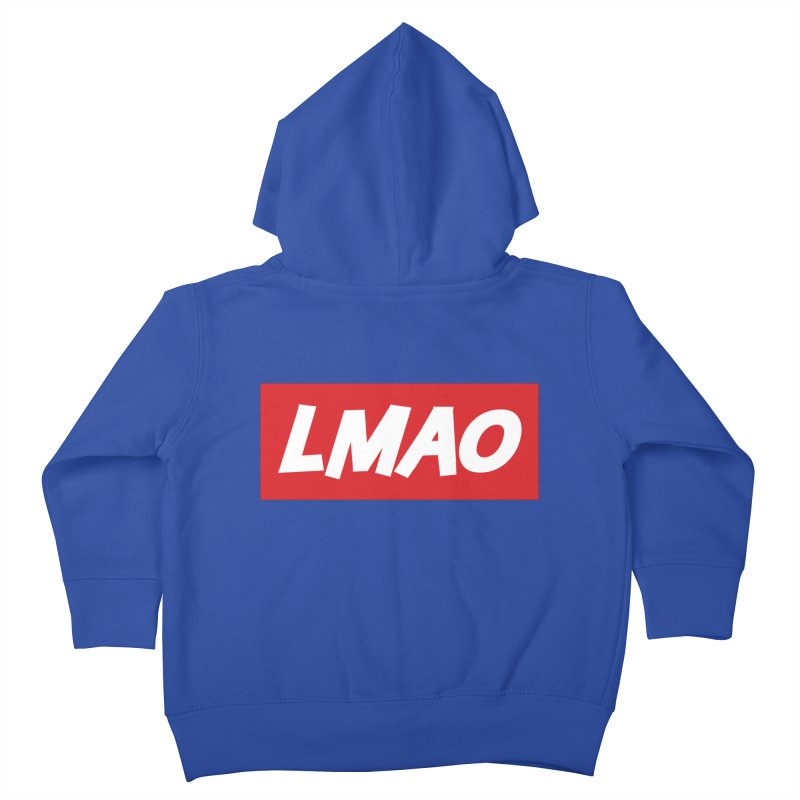 LMAO! Kids Toddler Zip-Up Hoody by gasponce