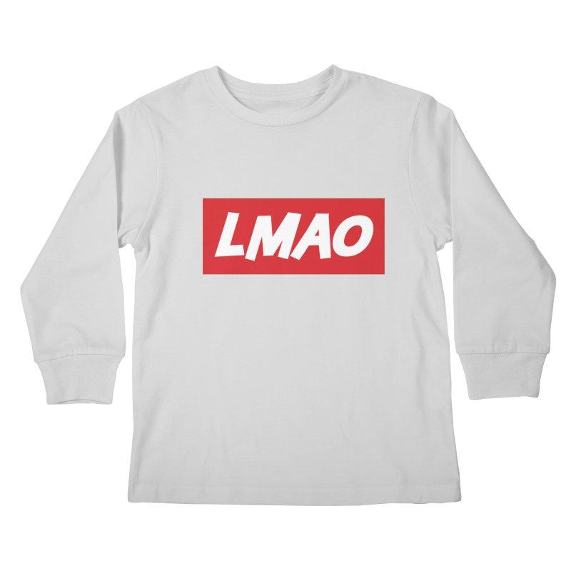LMAO! Kids Longsleeve T-Shirt by gasponce