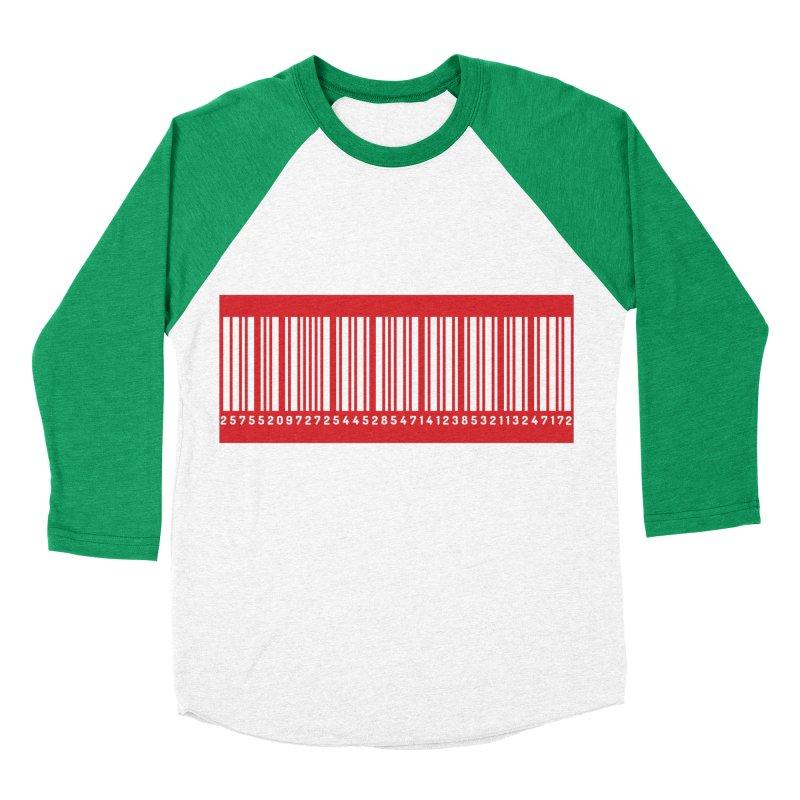 Code! Men's Baseball Triblend T-Shirt by gasponce