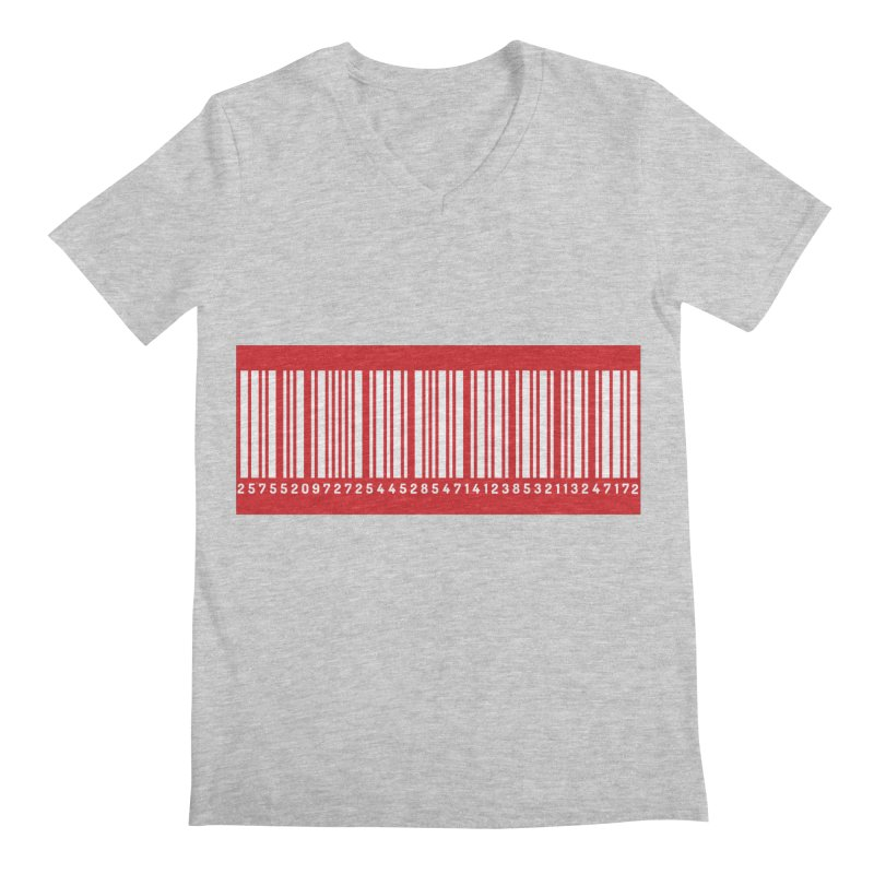 Code! Men's V-Neck by gasponce