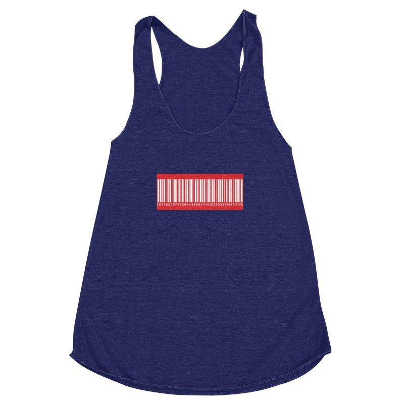 Code! Women's Racerback Triblend Tank by gasponce