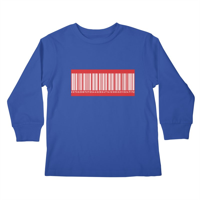 Code! Kids Longsleeve T-Shirt by gasponce