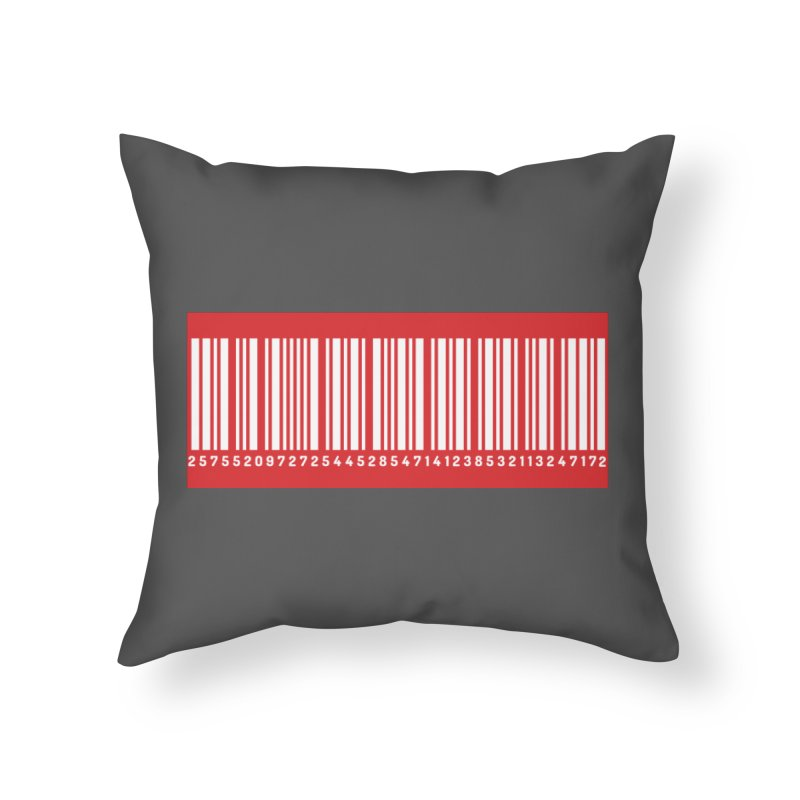 Code! Home Throw Pillow by gasponce