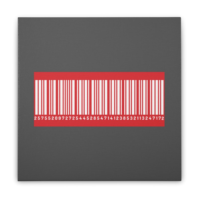 Code! Home Stretched Canvas by gasponce