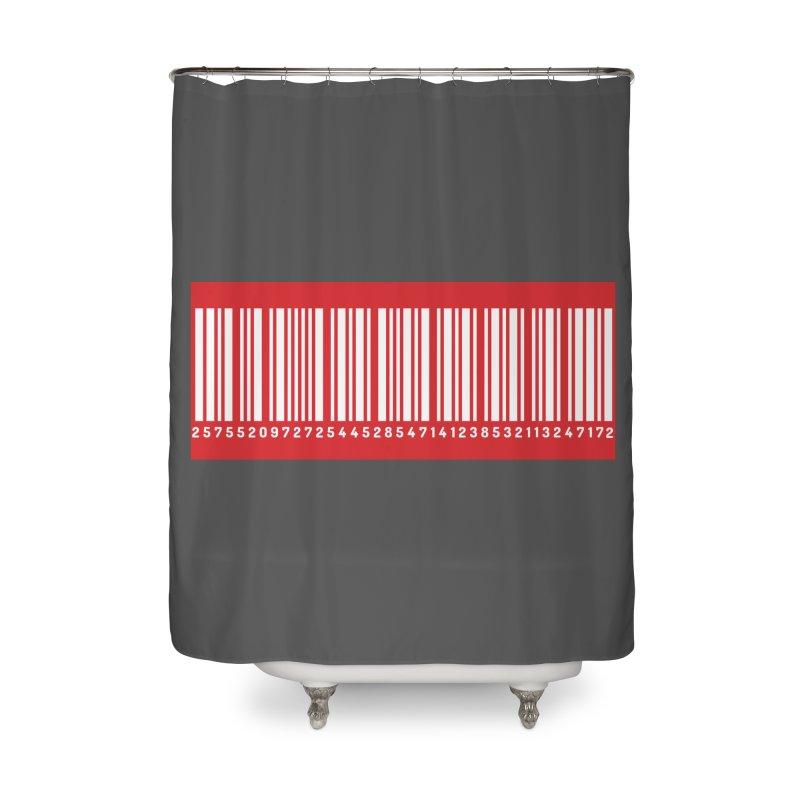 Code! Home Shower Curtain by gasponce