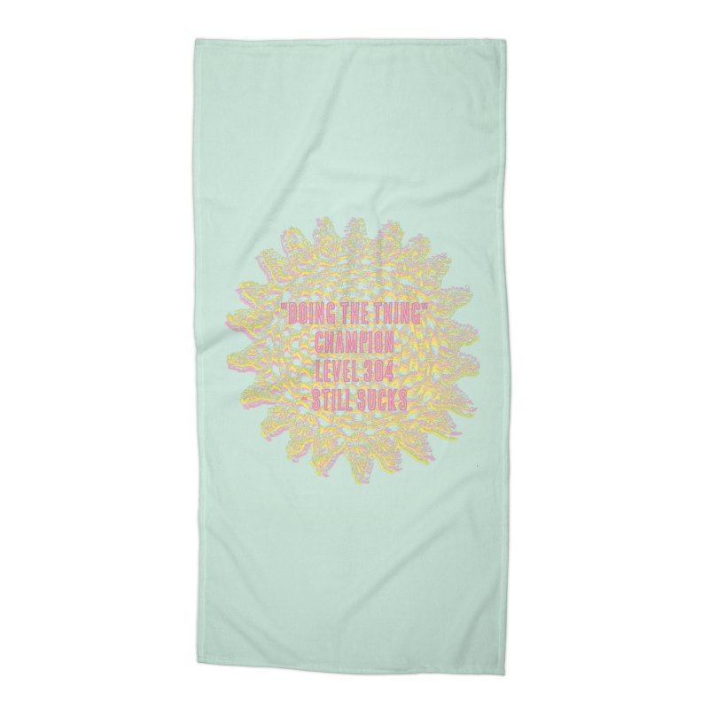 Thing champion Accessories Beach Towel by gasponce