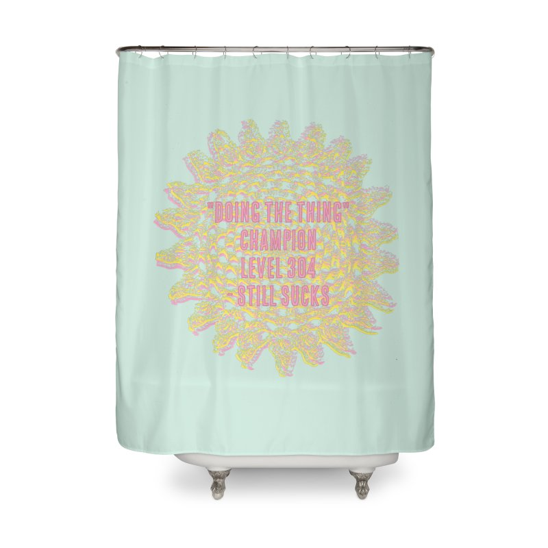 Thing champion Home Shower Curtain by gasponce