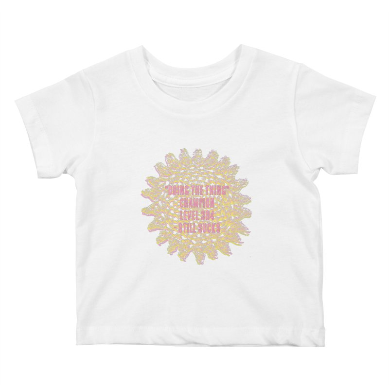 Thing champion Kids Baby T-Shirt by gasponce