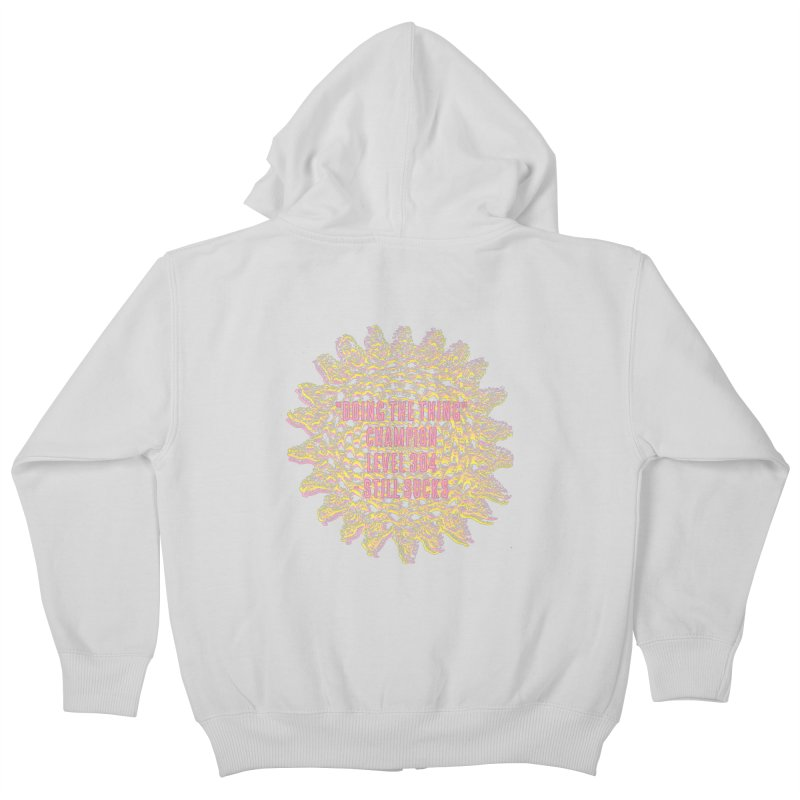 Thing champion Kids Zip-Up Hoody by gasponce