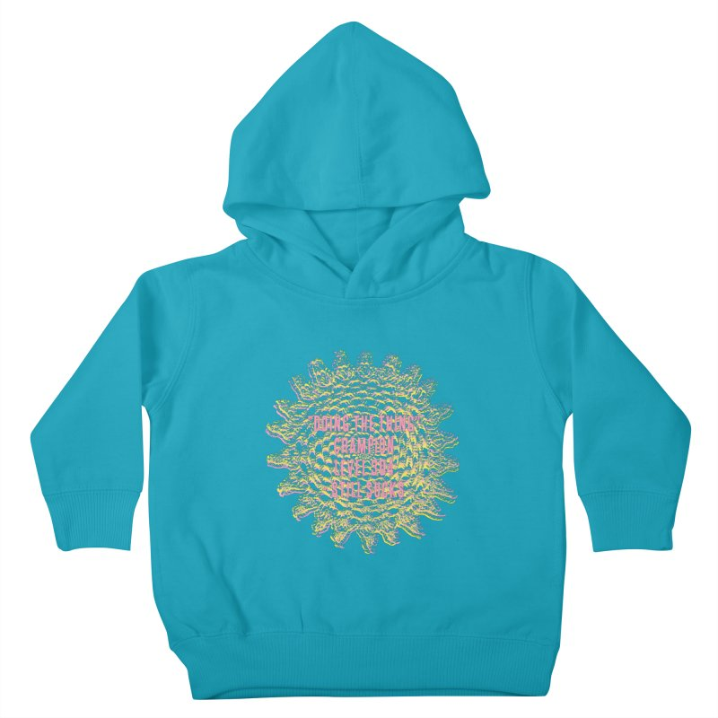 Thing champion Kids Toddler Pullover Hoody by gasponce