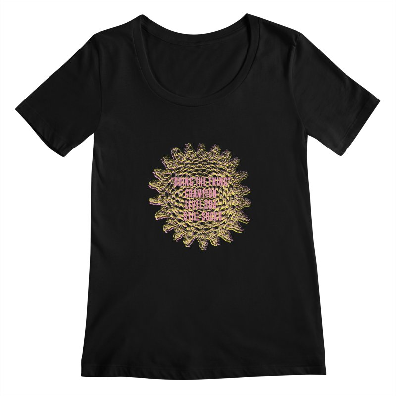 Thing champion Women's Scoopneck by gasponce
