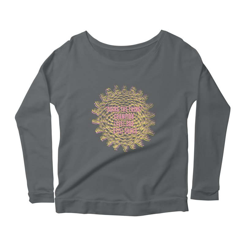 Thing champion Women's Longsleeve Scoopneck  by gasponce