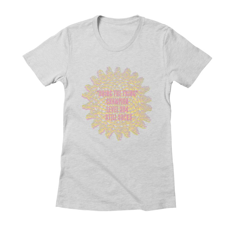 Thing champion Women's Fitted T-Shirt by gasponce
