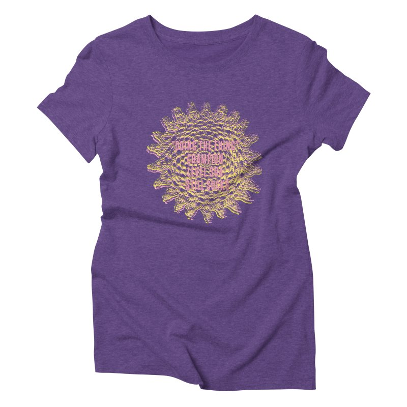 Thing champion Women's Triblend T-shirt by gasponce