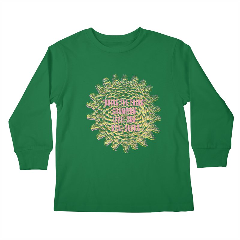 Thing champion Kids Longsleeve T-Shirt by gasponce