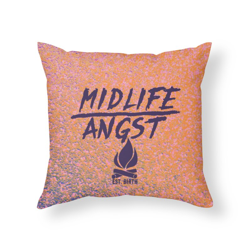 Angst! Home Throw Pillow by gasponce