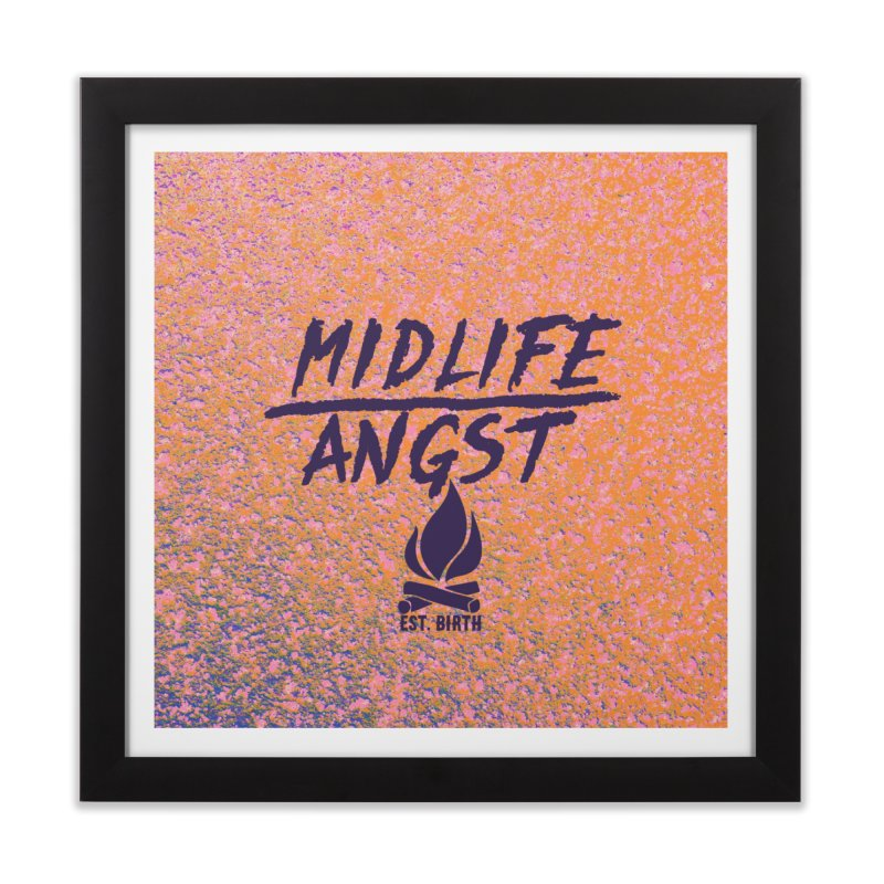 Angst! Home Framed Fine Art Print by gasponce